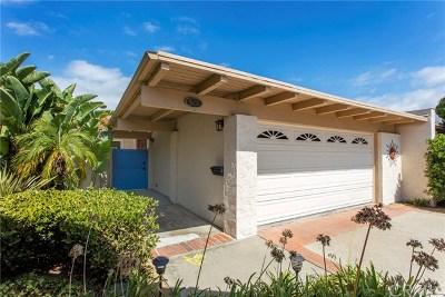 Newport Beach Single Family Home For Sale: 528 Vista Grande