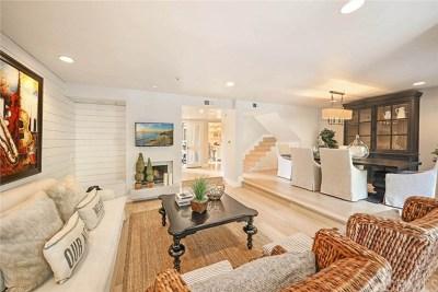 Newport Beach Condo/Townhouse For Sale: 19 Sea Island Drive