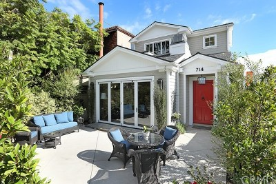 Corona Del Mar Single Family Home For Sale: 714 Marguerite Avenue