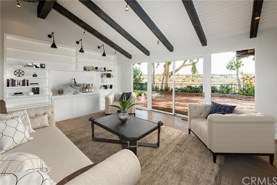 Newport Beach Single Family Home For Sale: 1007 Mariners Drive