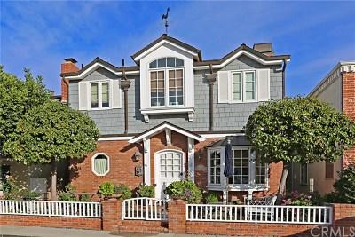 Balboa Island - Main Island (Balm) Single Family Home For Sale: 218 Apolena Avenue