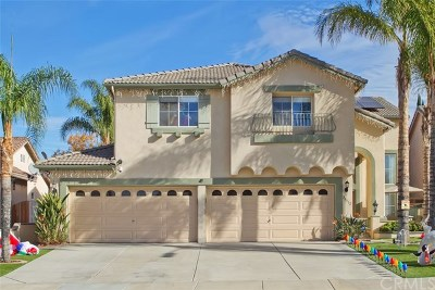 Murrieta Single Family Home For Sale: 26512 Winterset Court