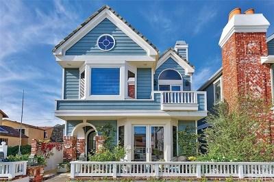 Balboa Island - Main Island (Balm) Single Family Home For Sale: 319 Apolena Avenue