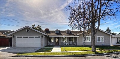 Costa Mesa Single Family Home For Sale: 1653 Samar Place