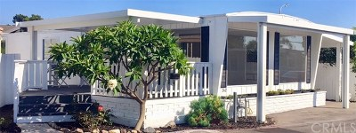 Newport Beach Mobile Home For Sale: 242 Lexington Circle