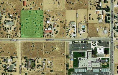 Hesperia Residential Lots & Land For Sale: Muscatel Street