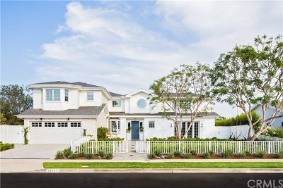 Newport Beach Single Family Home For Sale: 1606 Lincoln Lane