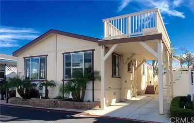Newport Beach Mobile Home For Sale: 49 Saratoga