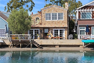 Balboa Island - Little Island (Ball) Single Family Home For Sale: 305 Grand Canal