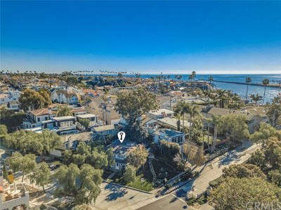 Corona del Mar Single Family Home For Sale: 2201 Waterfront Drive