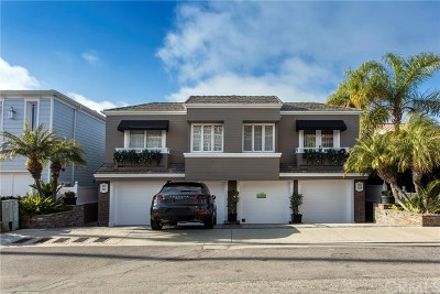 Corona del Mar Condo/Townhouse For Sale: 303 Carnation Avenue