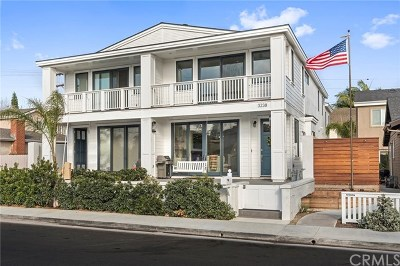 Newport Beach Condo/Townhouse For Sale: 3238 Clay Street