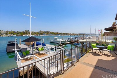 Newport Beach Single Family Home For Sale: 208 Via Lido Nord