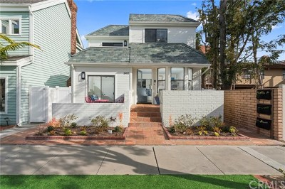 Balboa Peninsula Point (Blpp) Single Family Home For Sale: 1602 E Balboa Boulevard