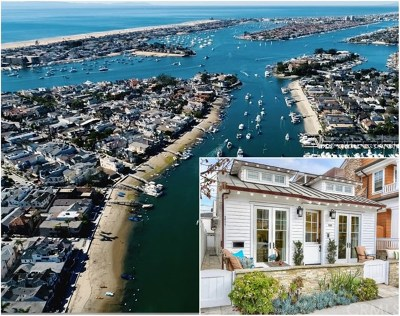 Balboa Island - Main Island (Balm) Multi Family Home For Sale: 310 Collins Avenue