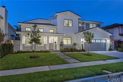 Newport Beach Single Family Home For Sale: 1854 Port Renwick Place