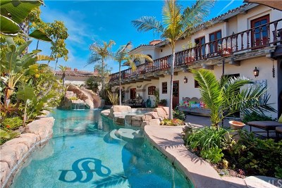 Corona Del Mar Single Family Home For Sale: 2900 Ocean Boulevard