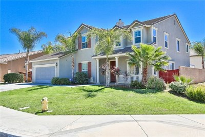Moreno Valley Single Family Home Active Under Contract: 27333 Big Horn Avenue