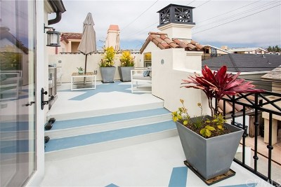 Newport Beach, Corona Del Mar, Newport Coast Condo/Townhouse For Sale: 606 Marigold Avenue