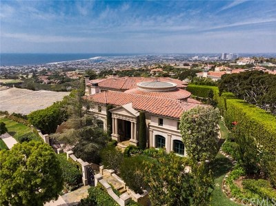 Newport Coast Single Family Home Active Under Contract: 17 Pelican Crest Drive