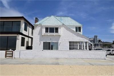 Newport Beach Rental For Rent: 1200 W Oceanfront