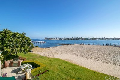 Corona Del Mar Single Family Home For Sale: 1933 Bayside Drive