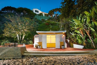Laguna Beach Single Family Home Sold: 156 Emerald Bay
