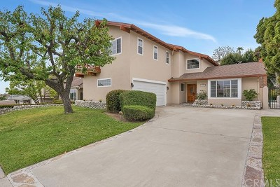 Dana Point Single Family Home For Sale: 33161 Marina Vista Drive