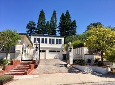 Corona del Mar Rental For Rent: 2720 Pebble Drive