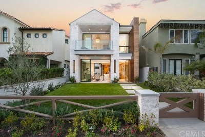 Corona del Mar Rental For Rent: 507 Orchid Avenue