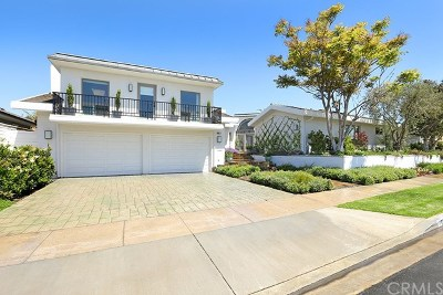 Corona Del Mar Single Family Home For Sale: 1810 Tahuna