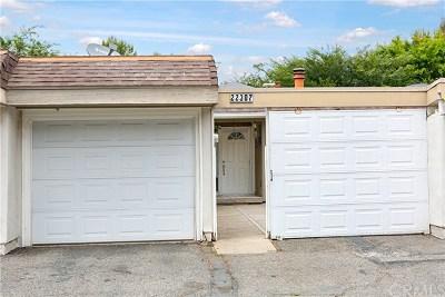 Laguna Hills Condo/Townhouse For Sale: 22307 Caminito Arroyo Seco #54