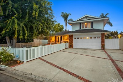 Newport Beach Single Family Home For Sale: 20112 Spruce Avenue