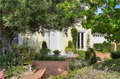 Newport Beach Single Family Home For Sale: 1661 Orchard Drive