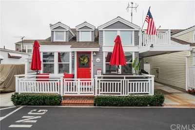 Newport Beach Mobile Home For Sale: 33 El Paseo Street