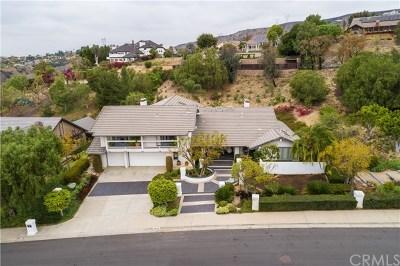 Yorba Linda Single Family Home For Sale: 22425 Mission Hills Lane