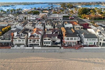 Newport Beach Single Family Home For Sale: 514 W Oceanfront