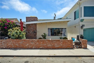 West Newport Beach (Wsnb) Multi Family Home For Sale: 208 35th Street