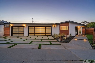 Newport Beach Single Family Home For Sale: 2305 Redlands Drive