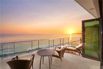 Laguna Beach Single Family Home Active Under Contract: 992 Ocean Front