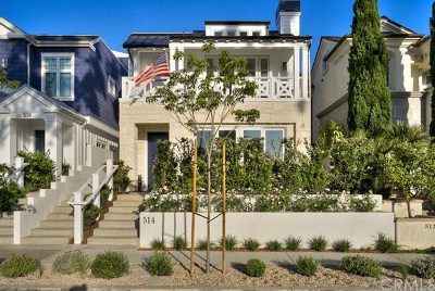 Corona del Mar Condo/Townhouse For Sale: 514 Avocado Avenue