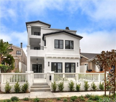Corona del Mar Condo/Townhouse For Sale: 608 Heliotrope Avenue