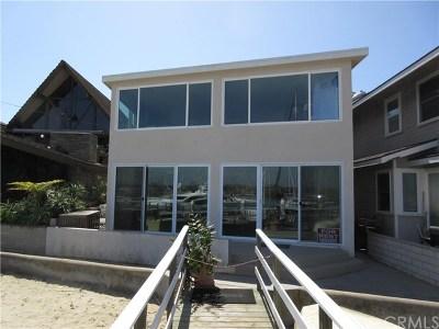 Newport Beach Rental For Rent: 209 E Edgewater Avenue E