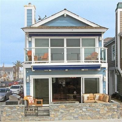 Newport Beach Rental For Rent: 2714 W Oceanfront