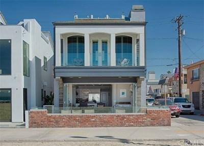 Newport Beach Rental For Rent: 2400 W Oceanfront