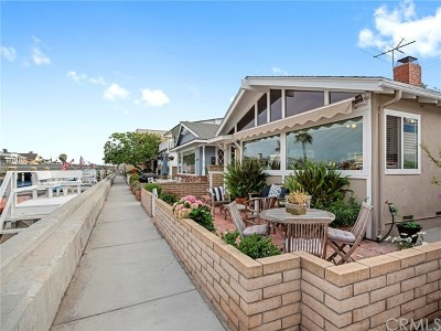 Newport Beach, Newport Coast, Corona Del Mar Single Family Home For Sale: 213 Grand Canal