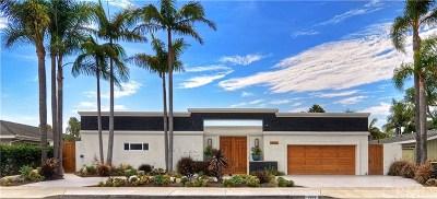 Newport Beach Single Family Home For Sale: 1525 Highland Drive