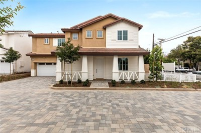 Costa Mesa Single Family Home For Sale: 123 E 23rd Street #Lot 1