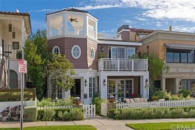 Corona Del Mar Single Family Home For Sale: 210 Narcissus Avenue