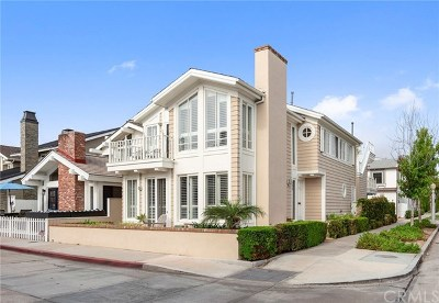 Newport Beach Single Family Home For Sale: 500 K Street